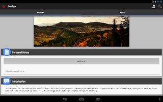 Screenshot of DSLR Photography Training apps