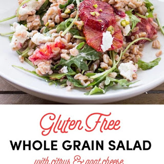 Healthy Whole Grain Salad with Citrus