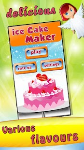 Ice Cream Cake Maker - screenshot