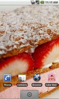 Screenshot of Cake Wallpapers