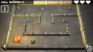 Screenshot of Tank Hero