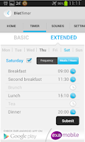 Screenshot of Diet Timer Fast Way XXL ->Slim