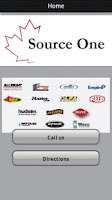 Screenshot of Source One Sales