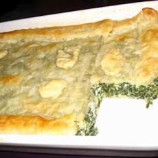 Spinach and Feta Puff Pie