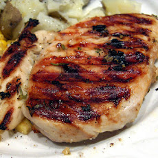 Lemon and Garlic Broiled or Grilled Chicken Breasts
