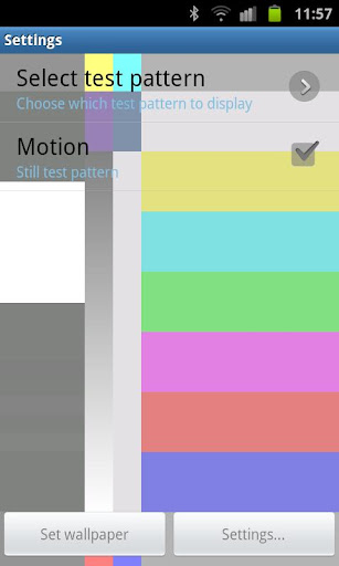 【免費個人化App】TV Test Screen Live Wallpaper-APP點子