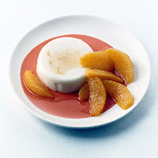 Cardamom Yogurt Pudding with Orange and Cinnamon Honey Syrup
