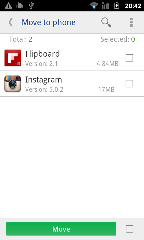 move app to sdcard pro Screenshot 3
