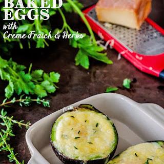 Baked Eggs Creme Fraiche Recipes