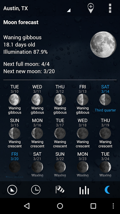 Sense V2 Flip Clock & Weather Screenshot 5