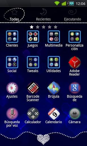 【免費個人化App】GO啟動藍心主題-APP點子