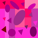Pink Purple Shapes icon