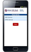 Screenshot of Global IME Mobile Banking