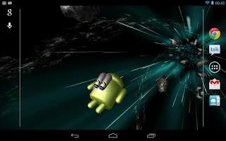Screenshot of Jumpgate Free Live Wallpaper