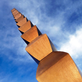 Constantin Brancusi - The Endless Column by Simona Limberea - Buildings & Architecture Statues & Monuments