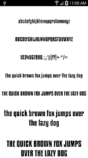 App Fonts for FlipFont 50 #6 APK for Windows Phone