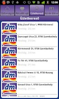 Screenshot of dm