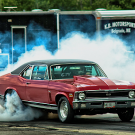 Burnout by Josh Towne - Transportation Automobiles ( car, drag racing, djanrchy, truck, automobile, towne, qualifying, line, winner, finishing, top sportsman, race, stock, grand, runway, fuel, nhra, motion, shootout, super comp, black, end, victory, champion, icon, phototowne, check, speed, checkered, drag, white, sport, josh, pursuit, rally, photos, traffic, flag, motocross, dragster, start, background, auto, success, eliminations, competition, nitro,  )