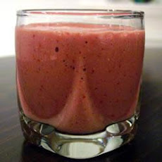 Strawberry Soya Breakfast Smoothie