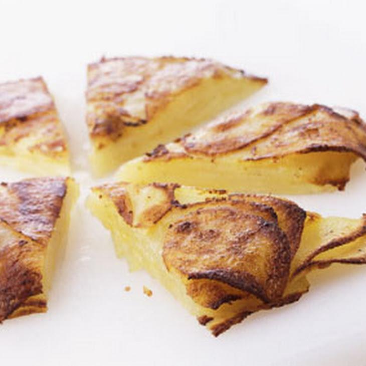 Potato and Parmesan Cake Recept | Yummly