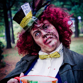 Mad Hatter Massacre by Megan Webb - People Body Art/Tattoos ( scary, zombie, makeup, special fx, halloween,  )