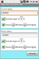 Screenshot of Aussie Salary Rise Calculator