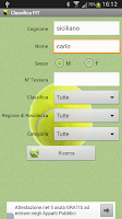 Screenshot of Tennis - Classifica FIT 2015