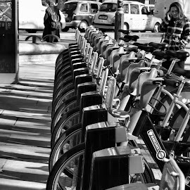 London Bikes by Dean Thorpe - Transportation Bicycles