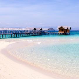 Blue of Saronde Island by Faizal Djau - Landscapes Beaches ( kwandang, beach, gorut, saronde, gorontalo, island )
