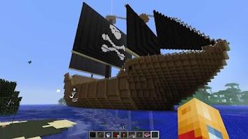 Screenshot of MIne Black Pirates Craft