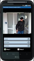 Screenshot of CamControl Android