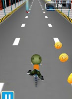 Screenshot of BMX Boy - Street Stunts