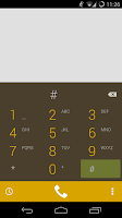 Screenshot of ChocoUI (XDA colors)