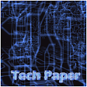 Tech Paper 3D Live Wallpaper icon