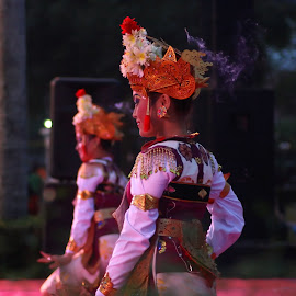 the Legongs Dancer by Nino Shindhu - Artistic Objects Other Objects ( #legong #dance #bali #indonesia #trance #culture )
