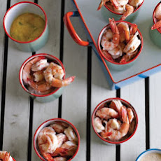 Shrimp Cocktail with Three Sauces