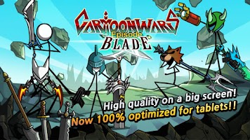 Screenshot of Cartoon Wars: Blade