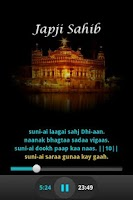 Screenshot of Japji sahib - Audio and Lyrics