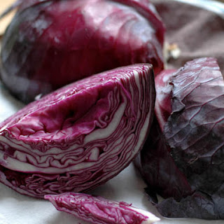 Lucky-Lusty Red Cabbage and Apples