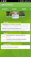 Screenshot of Emsland Kalender