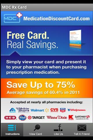 Medication Discount Card