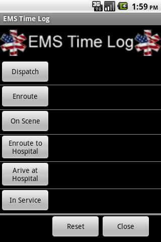 EMS Time Log