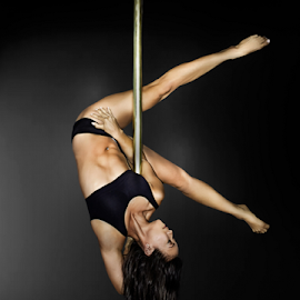 Strength and Grace by Lee Underwood - Sports & Fitness Fitness ( pole dancing, pole, fitness, health, dance )