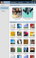 Screenshot of KiesCast for Tablet