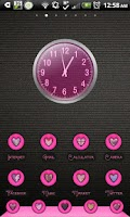 Screenshot of THEME - Pink Heart Halo