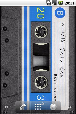【免費個人化App】Cassette LiveWallpaper-APP點子