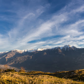 Alpes by Christophe Warpelin - Landscapes Mountains & Hills ( mountains, valais, switzerland )