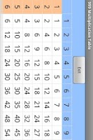 Screenshot of 999 Multiplication Table