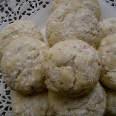 Almond Tea Cookies