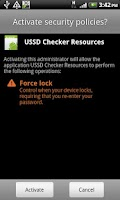 Screenshot of USSDChecker Resources